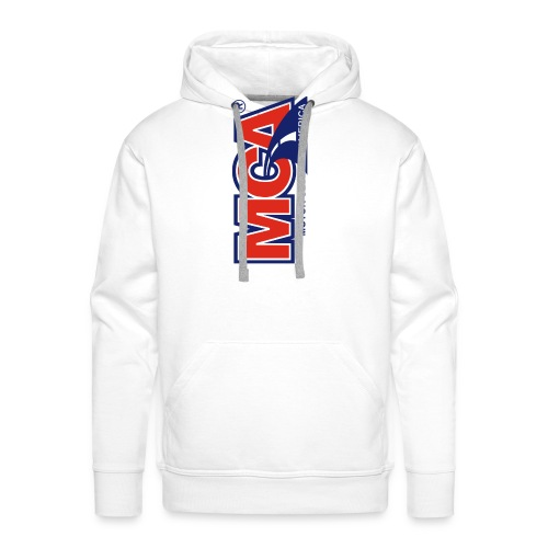 MCA Logo Iphone png - Men's Premium Hoodie