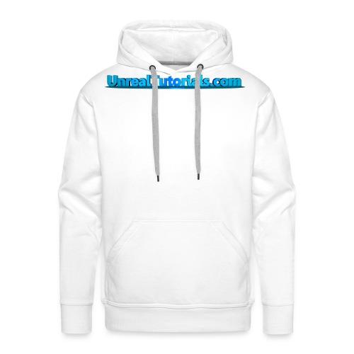 UnrealTutorials.com Support Hoodie - Men's Premium Hoodie