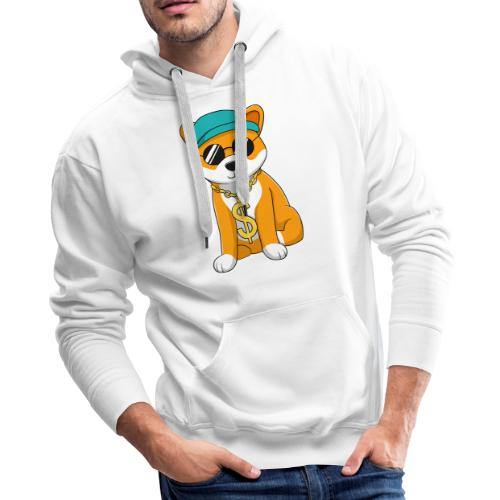 Money Dog - Men's Premium Hoodie