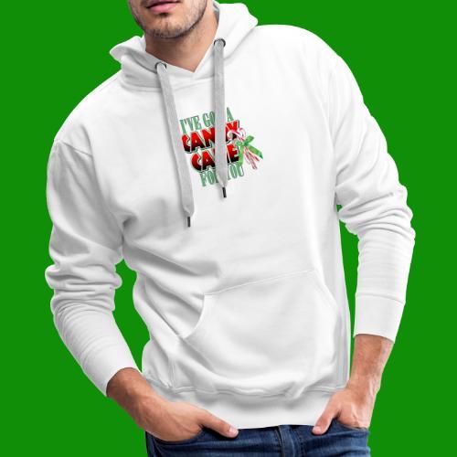 Candy Cane - Men's Premium Hoodie
