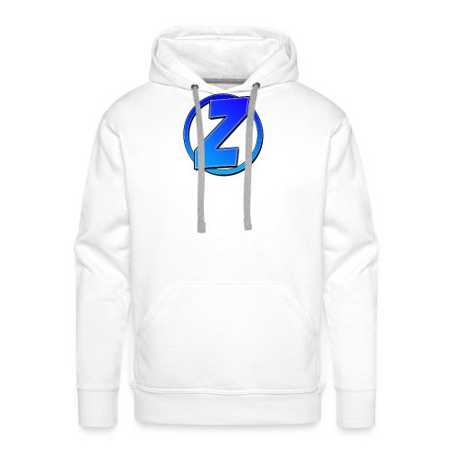 Blue Ziffy logo Shirt - Men's Premium Hoodie