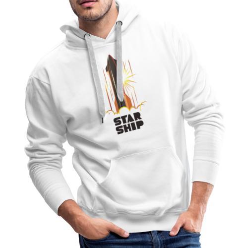 Star Ship Mars - Light - Men's Premium Hoodie