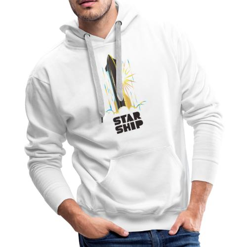 Star Ship Earth - Light - Men's Premium Hoodie