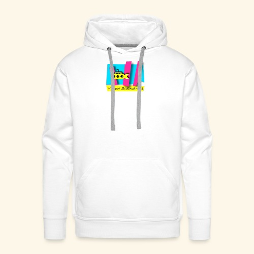 Yellow Submarine-CMKY - Men's Premium Hoodie