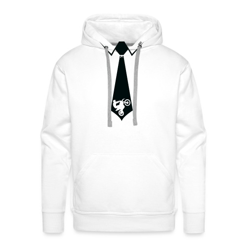 Fathers Day Dirt Bike - Men's Premium Hoodie