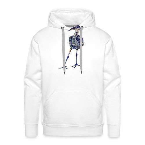 Blue heron - Men's Premium Hoodie