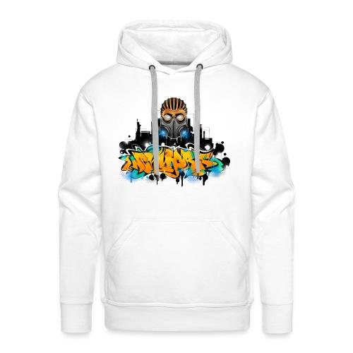 2.ezy - Design for New York Graffiti Color Logo - - Men's Premium Hoodie