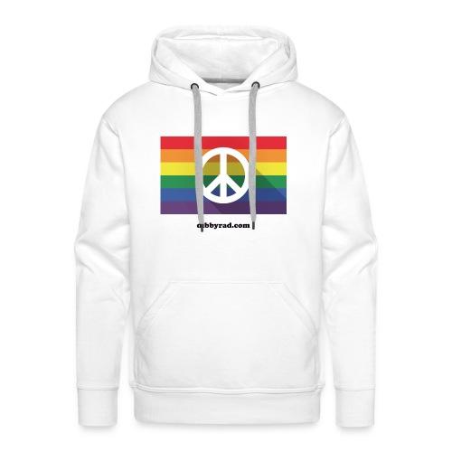 Peace pride dibbyrad - Men's Premium Hoodie
