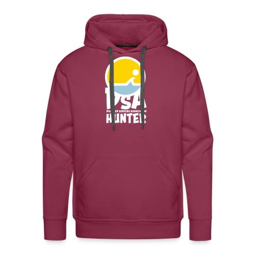 Disabled Surfers Association Hunter - Light Logo - Men's Premium Hoodie