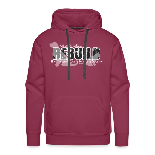 Rebuild The Carteret County Humane Society - Men's Premium Hoodie