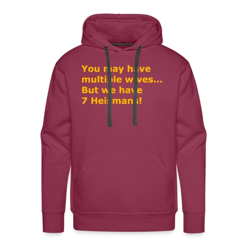 Multiple Wives - Men's Premium Hoodie