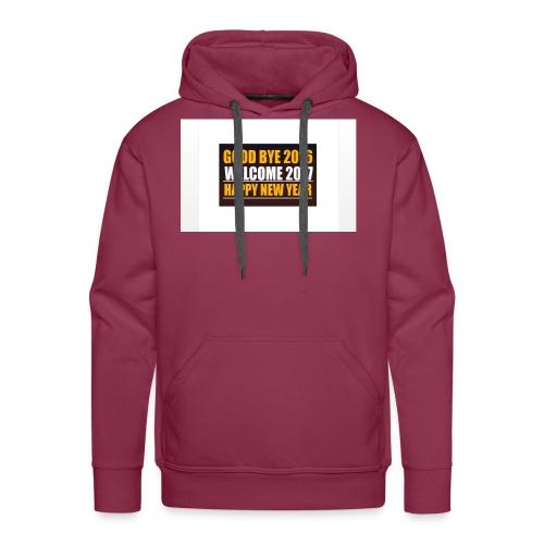 2017 - Men's Premium Hoodie