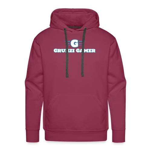 logo and channel name - Men's Premium Hoodie