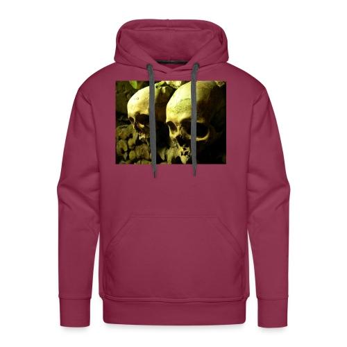 Skull design realistic 2 - Men's Premium Hoodie