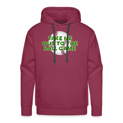 Take me out to the ball game - Men's Premium Hoodie