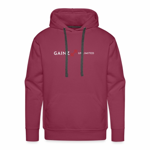 Gainz unlimited - Men's Premium Hoodie