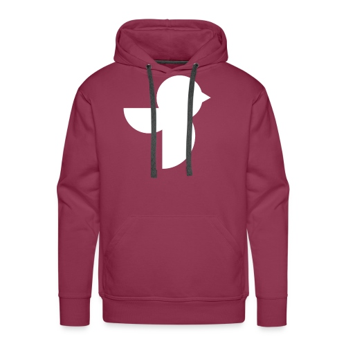 The White Sailea Logo - Men's Premium Hoodie