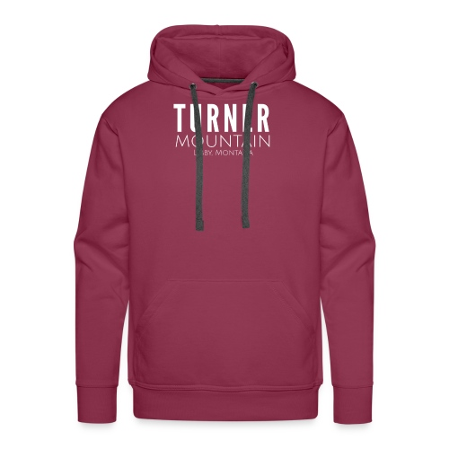 Turner Mountain - Men's Premium Hoodie