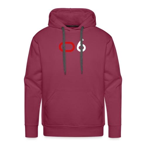 Original 6 Logo (White) - Men's Premium Hoodie