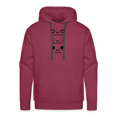 We All Have Demons - Men's Premium Hoodie