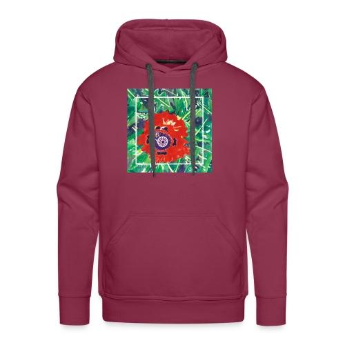 Poppy Watercolor - Men's Premium Hoodie
