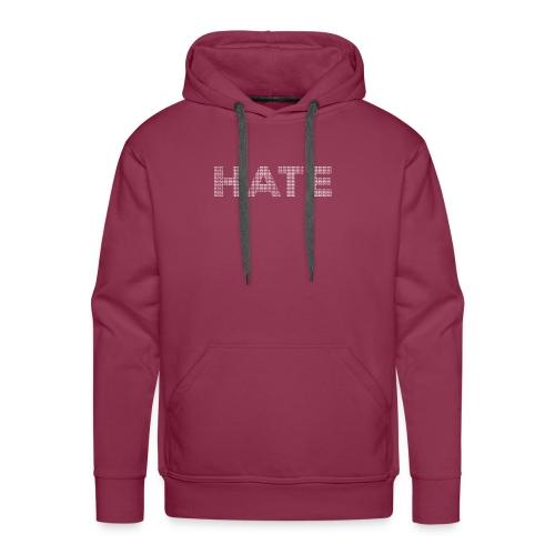 Hate v2 - Men's Premium Hoodie