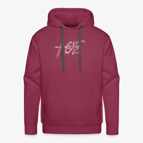 AOE Logo M1 White - Men's Premium Hoodie