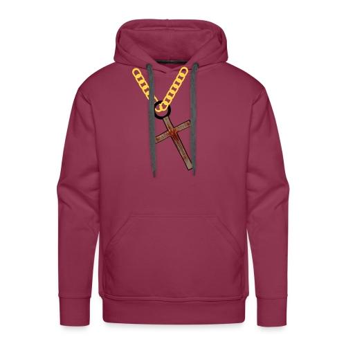 necklace - Men's Premium Hoodie
