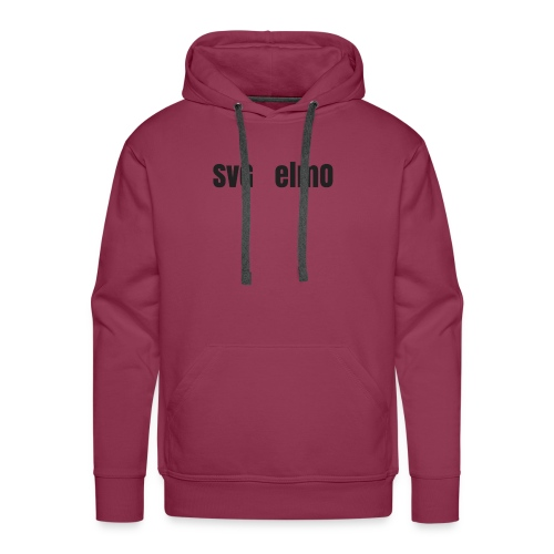 SvG_ElmO Design - Men's Premium Hoodie