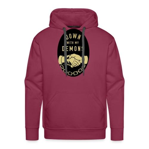 down with my demons - Men's Premium Hoodie