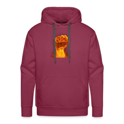 FIST OF FIRE - Men's Premium Hoodie