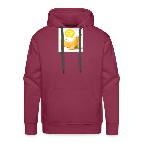 Banana dolphin - Men's Premium Hoodie
