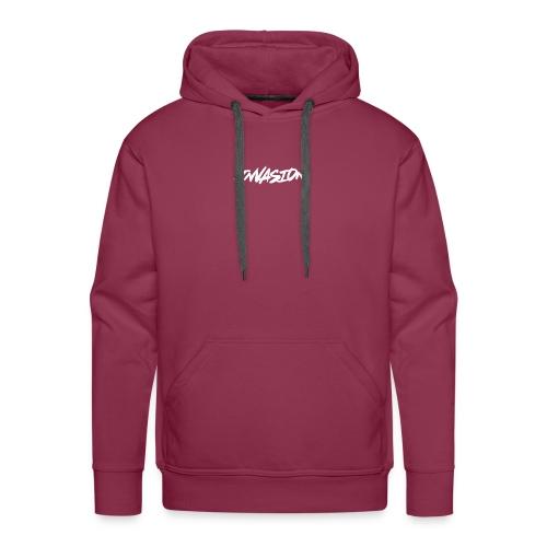 invasion logo hover - Men's Premium Hoodie