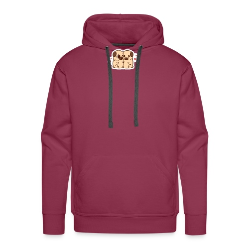 dog love - Men's Premium Hoodie