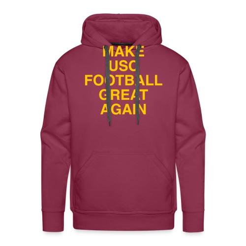 Make USC Football Great Again - Men's Premium Hoodie