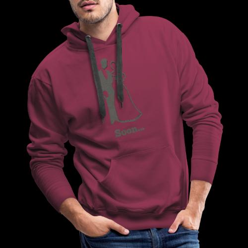 Soon to be Married T-Shirt for Engaged Couples - Men's Premium Hoodie