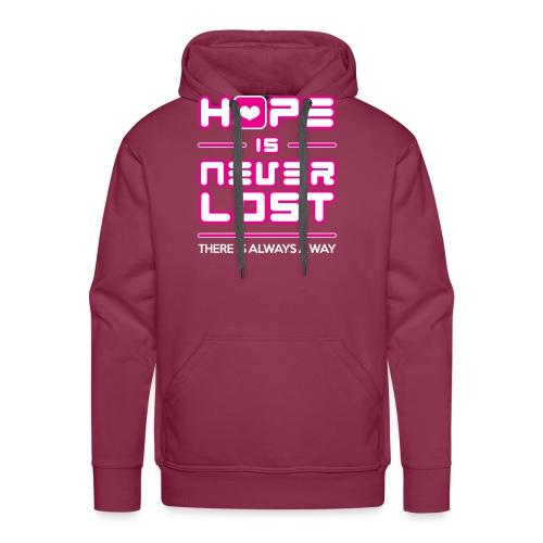 Hope is Never Lost - Men's Premium Hoodie