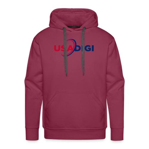 USA DIGI for light shirts - Men's Premium Hoodie
