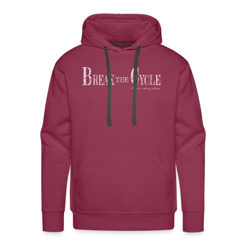 Break the cycle - Men's Premium Hoodie