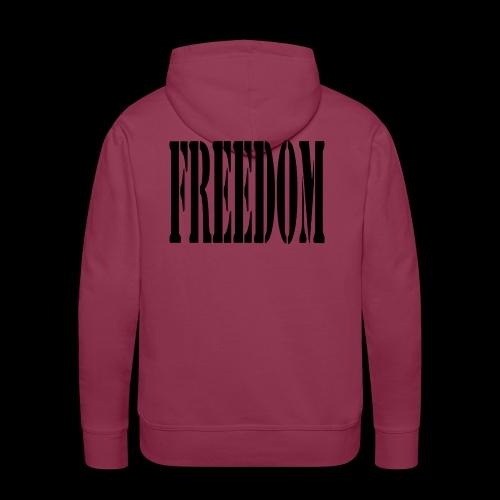 Freedom Logo - Men's Premium Hoodie