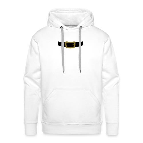 SANTA CLAUS SUIT - Men's Polo Shirt - Men's Premium Hoodie