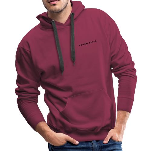 Vegan Elite Minimal Collection - Men's Premium Hoodie