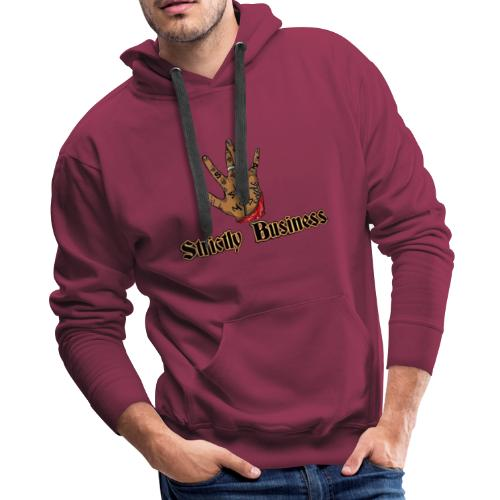 West Side Strictly Business West Coast SBP Logo - Men's Premium Hoodie