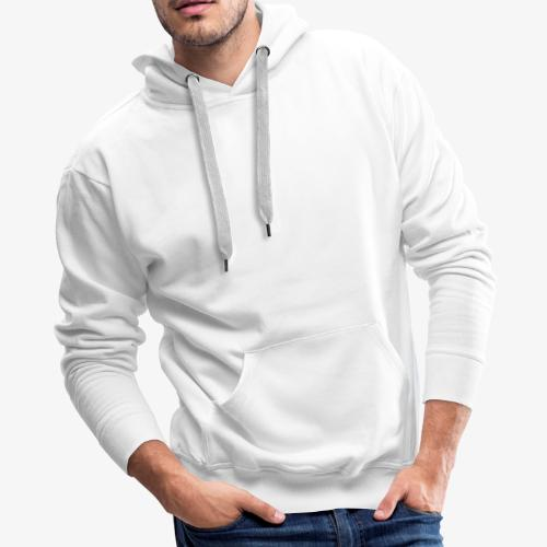 white leaf - Men's Premium Hoodie