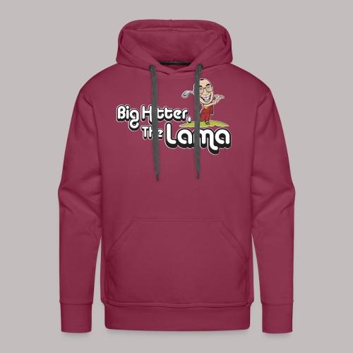 Big Hitter The Lama - Men's Premium Hoodie