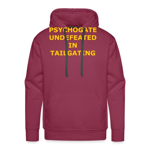 Undefeated In Tailgating - Men's Premium Hoodie
