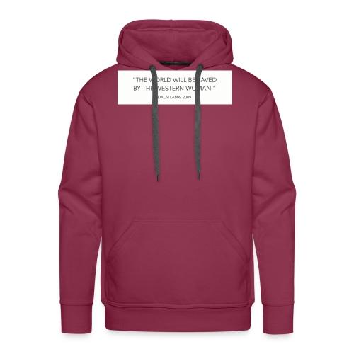 dalailamaquote - Men's Premium Hoodie