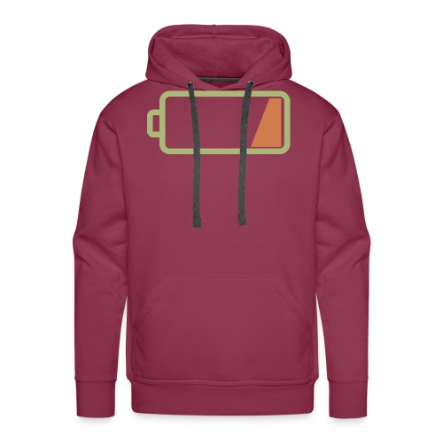 Silicon Valley - Low Battery - Men's Premium Hoodie