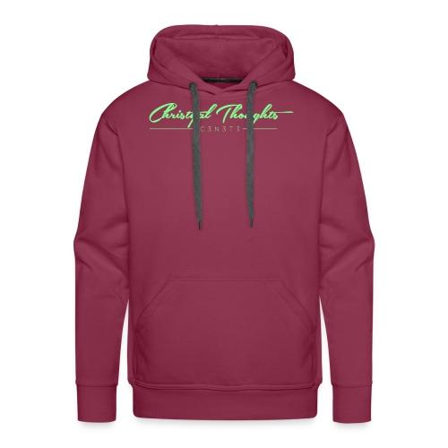Christyal Thoughts C3N3T31 Lime png - Men's Premium Hoodie