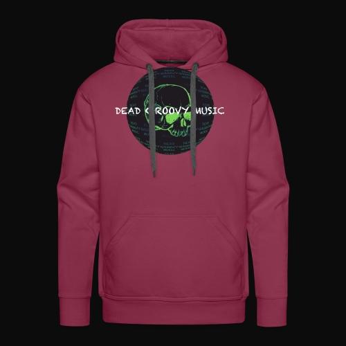 Dead Groovy Music - Detail Logo/Name - Colour - Men's Premium Hoodie